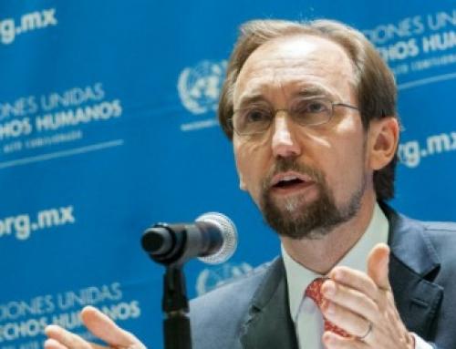 Declaración del Alto Comisionado de la ONU para los Derechos Humanos, Zeid Ra'ad Al Hussein, con motivo de su visita a México