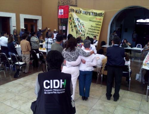 El gobierno federal debe atender la crisis de derechos humanos que afecta a la población y dejar de rechazar con argumentos falaces las conclusiones de la CIDH