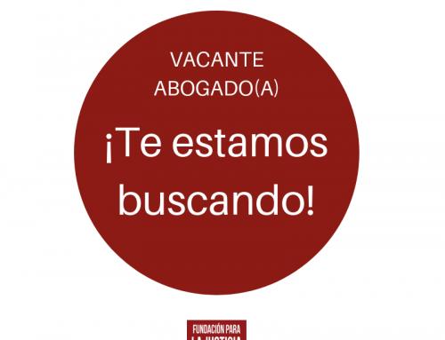 CONVOCATORIA PARA PUESTO DE ABOGADO/A