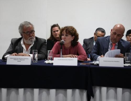 Comités de familiares de migrantes y la Fundación para la Justicia celebran la primera entrega de copias del expediente de la masacre de 72 migrantes por parte de la Fiscalía General de la República