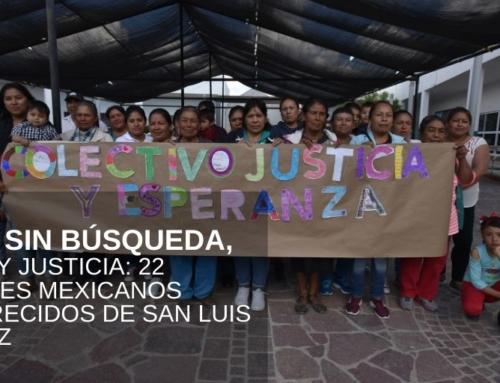 9 años sin búsqueda, verdad y justicia: 22 migrantes mexicanos desaparecidos de San Luis de la Paz
