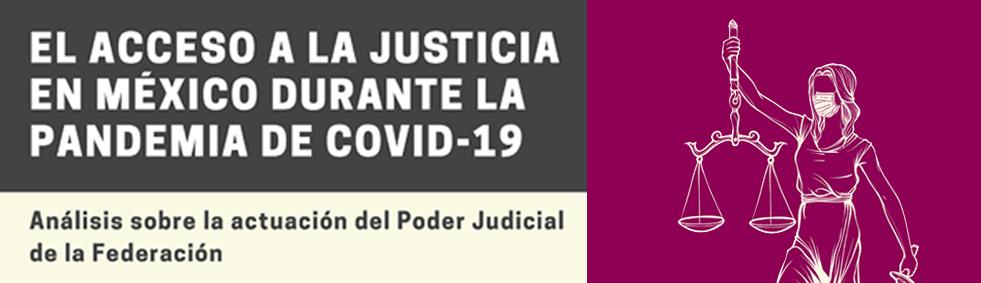 """""""El acceso a la justicia en México durante la pandemia de COVID19"""""""